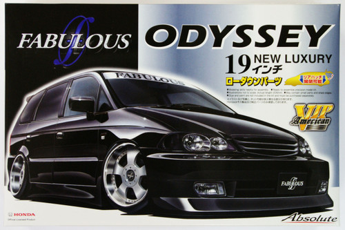 Aoshima 49891 Honda Odyssey Absolute (RA6) FABULOUS Custom 1/24 Scale Kit