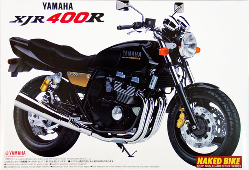 Aoshima Naked Bike 21 Yamaha XJR 400R 1/12 Scale Kit