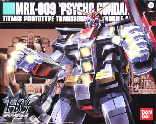 Bandai HGUC 049 Gundam MRX-009 PSYCHO Gundam 1/144 Scale Kit
