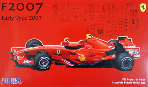 Fujimi GP42 091006 F1 Ferrari F2007 Early Type Australia GP 1/20 Scale Kit