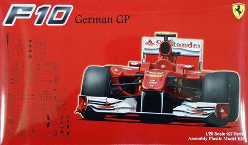 Fujimi GP41 F1 Ferrari F10 German GP 1/20 Scale Kit