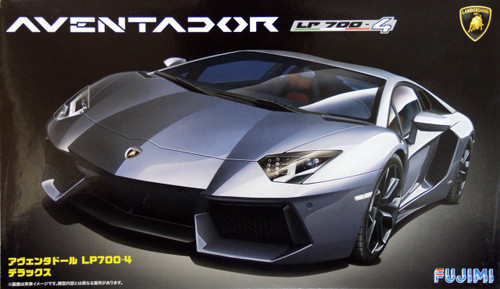 Fujimi RS-71 Lamborghini Aventador LP700-4 Deluxe with Etching parts 1/24 Scale Kit
