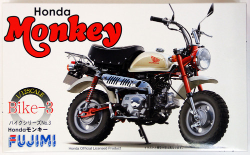 Fujimi Bike-SP Honda Monkey DX with Etching Parts 1/12 Scale Kit