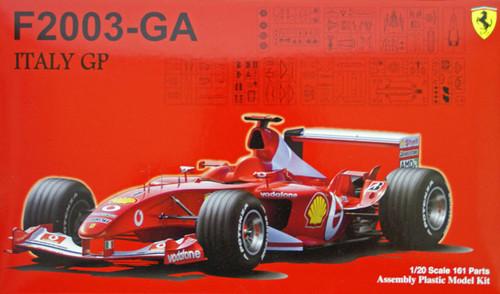 Fujimi GP30 090863 F1 Ferrari F2003-GA Italy GP 1/20 Scale Kit