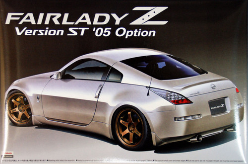 Aoshima 38789 Nissan Fairlady Z (Z33) Version ST 2005 Option 1/24 Scale Kit