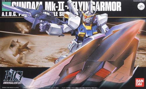 Bandai HGUC 053 Gundam Mk-II + FLYINGARMOR 1/144 Scale Kit