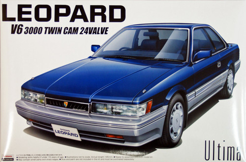 Aoshima 43448 Nissan Leopard Ultima 1986 (F31) 1/24 Scale Kit