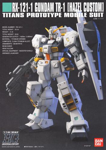 Bandai HGUC 056 Gundam RX-121-1 TR-1 HAZEL CUSTOM 1/144 Scale Kit