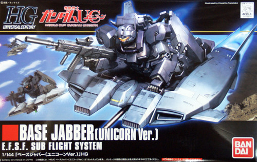 Bandai HGUC 144 Gundam Base Jabber (Unicorn Version) 1/144 Scale Kit