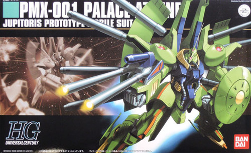 Bandai HGUC 060 Gundam PMX-001 PALACE-ATHENE 1/144 Scale Kit