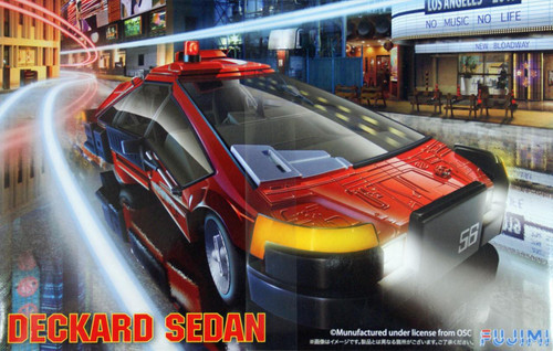 Fujimi 091358 Deckard Sedan 1/24 Scale Kit