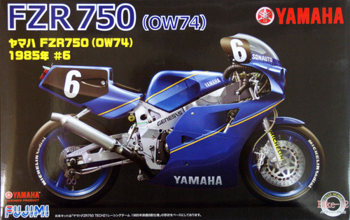 Fujimi Bike-12 Yamaha FZR750 (OW74) 1985 #6 1/12 Scale Kit