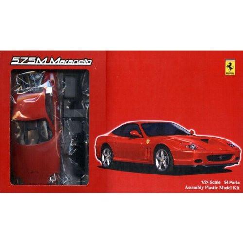 Fujimi FR-02 Ferrari 575M Maranello with Grade-Up Parts 1/24 Scale Kit
