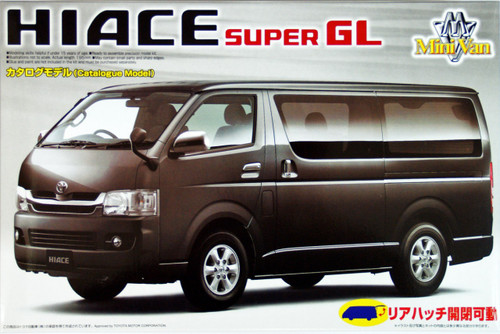 Aoshima 46500 Toyota Hiace (200) Super GL 2007 1/24 Scale Kit