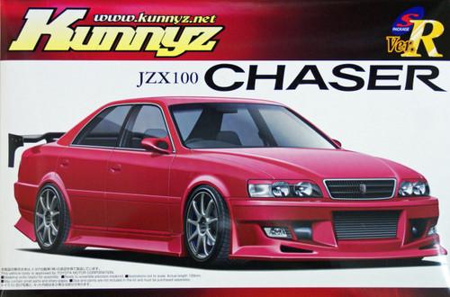 Aoshima 03701 Toyota Chaser JZX100 Kunnyz 1/24 Scale Kit