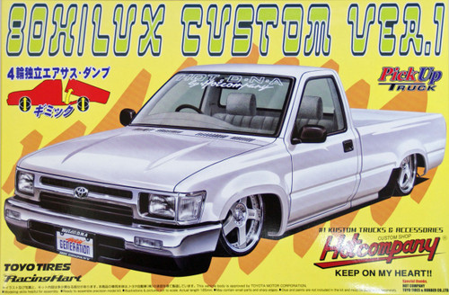 Aoshima 32008 Toyota Hilux 80 Custom Version1 (Pick Up Truck) 1/24 Scale Kit