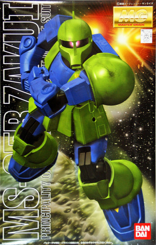Bandai MG 725734 Gundam MS-05B ZAKU I 1/100 Scale Kit