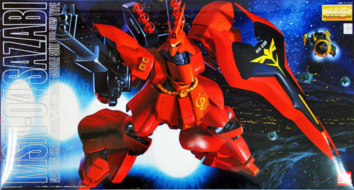 Bandai MG 770727 Gundam MSN-04 SAZABI 1/100 Scale Kit