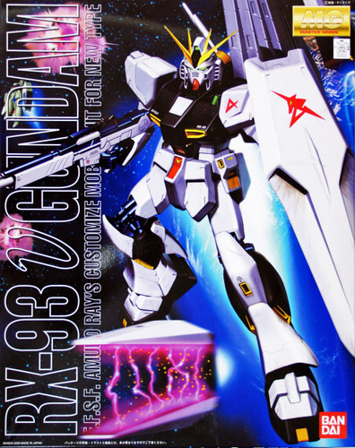 Bandai MG 782126 Gundam RX-93 v Gundam 1/100 Scale Kit