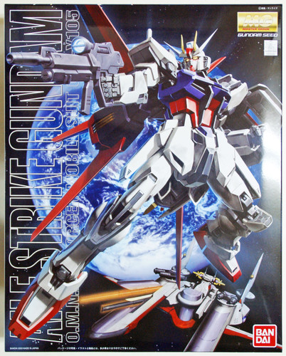 Bandai MG 222428 Gundam GAT-X105 Aile Strike 1/100 Scale Kit