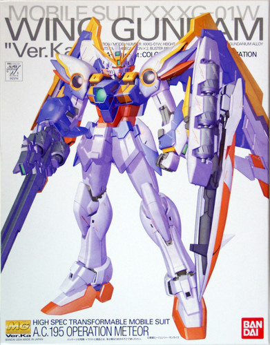 Bandai MG 237149 Gundam WING Gundam VersionKa XXXG-01W 1/100 Scale Kit