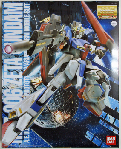 Bandai MG 395979 ZETA Gundam MSZ-006 Version2.0 1/100 Scale Kit