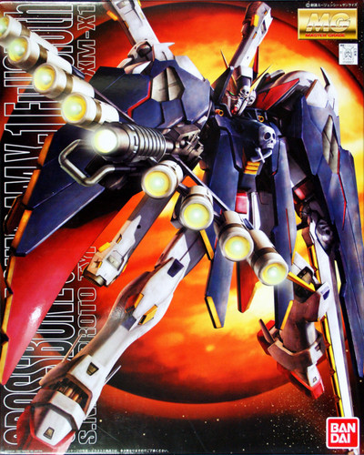 Bandai MG 488275 CROSS BOne Gundam X-1 FULL CLOTH 1/100 Scale Kit