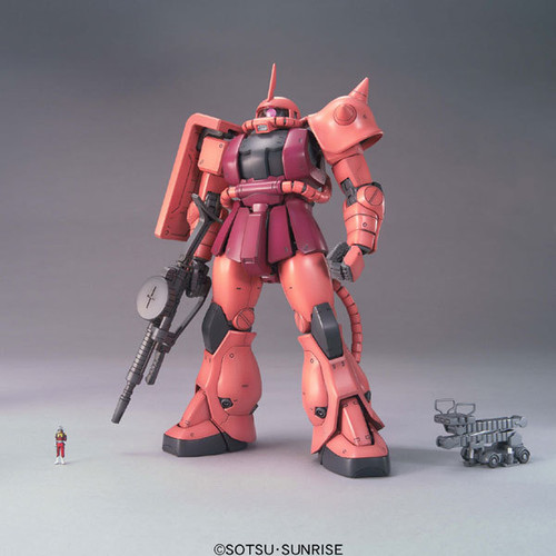 Bandai MG 498342 Gundam MS-06S CHAR'S ZAKU II 1/100 Scale Kit