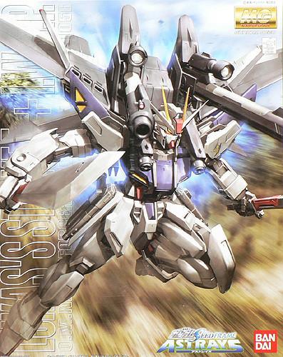 Bandai MG 531452 GAT-X105E Gundam STRIKE E + I.W.S.P. 1/100 Scale Kit