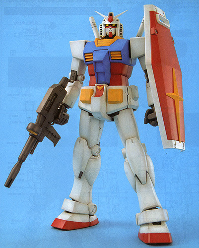 Bandai MG 555205 Gundam RX-78-2 Version 2.0 1/100 Scale Kit