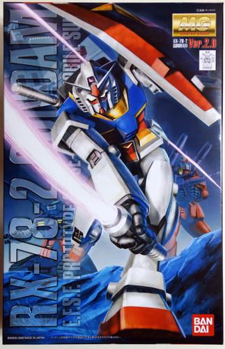 Bandai MG 555205 Gundam RX-78-2 Version 2.0 1/100 Scale Kit