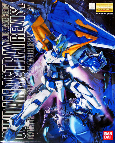 Bandai MG 609984 Gundam Astray Blue Frame Second Revise 1/100 Scale Kit