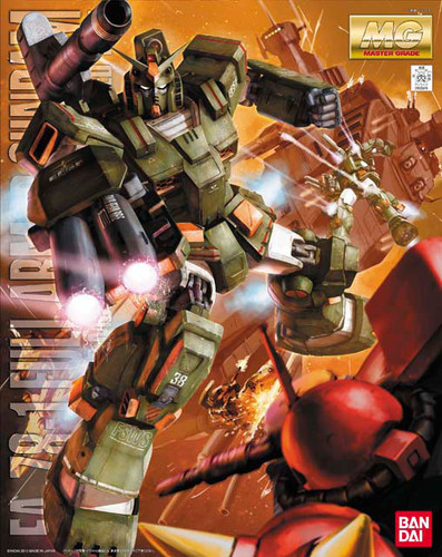 Bandai MG 623768 Gundam FA-78-1 Full Armor Gundam 1/100 Scale Kit