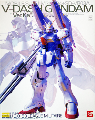 Bandai MG 642707 Gundam V-Dash Gundam VersionKa 1/100 Scale Kit