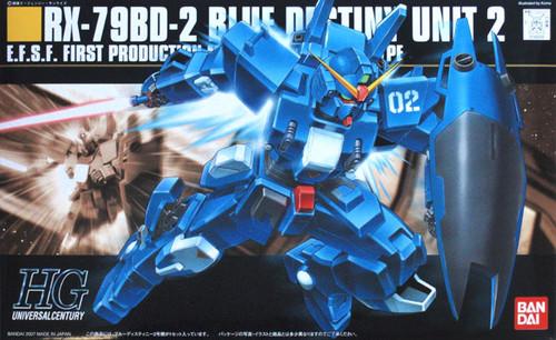 Bandai HGUC 077 Gundam RX-79BD-2 BLUE DESTINY 1/144 Scale Kit