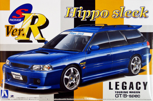 Aoshima 05521 Subaru Legacy Touring Wagon GT B spec Hippo Sleek 1/24 Scale Kit