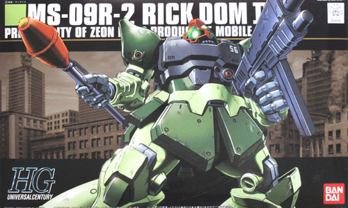 Bandai HGUC 090 Gundam MS-09R-2 RICK DOM II 1/144 Scale Kit