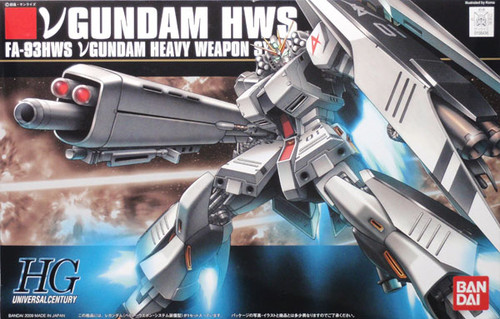 Bandai HGUC 093 Gundam FA-93HWS NU HWS 1/144  Scale Kit