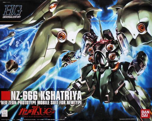 Bandai HGUC 099 Gundam NZ-666 KSHATRIYA 1/144 Scale Kit