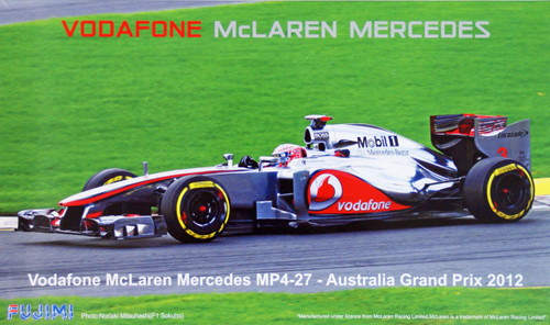 Fujimi GP43 091396 F1 VodafOne McLaren Mercedes MP4-27 Australia GP 2012 1/20 Scale Kit