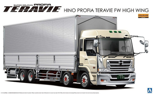 Aoshima 04500 Hino Profia Teravie FW High Wing Truck 1/32 Scale Kit