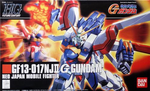 Bandai HGUC 110 Gundam GF13-017NJII G NEO JAPAN 1/144 Scale Kit
