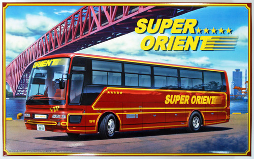 Aoshima 47286 Super Orient Japanese Bus 1/32 Scale Kit