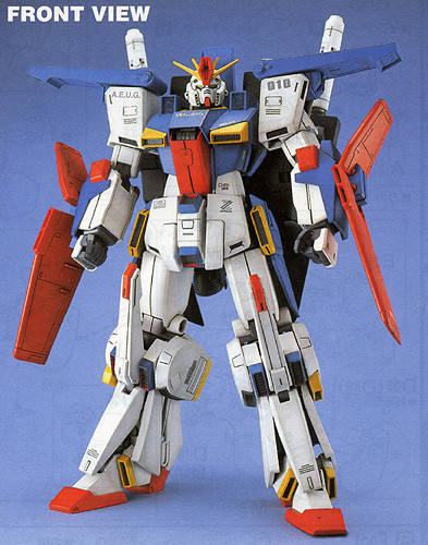 Bandai MG 716909 Gundam MSZ-010 ZZ Gundam 1/100 Scale Kit