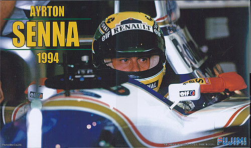 Fujimi GP SP22 091440 F1 Williams FW16 Brazil GP 1994 with Driver Figure 1/20 Scale Kit