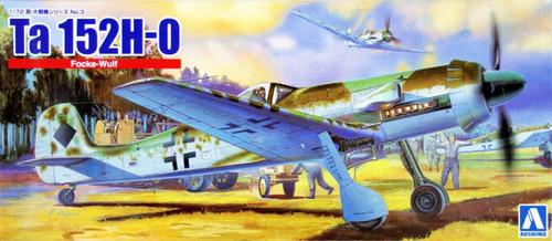Aoshima 16503 Focke Wulf Ta152 H-0 1/72 Scale Kit