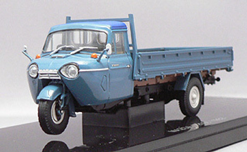 Ebbro 43848 MAZDA T2000 3-Wheel Truck 1962 (Blue) 1/43 Scale