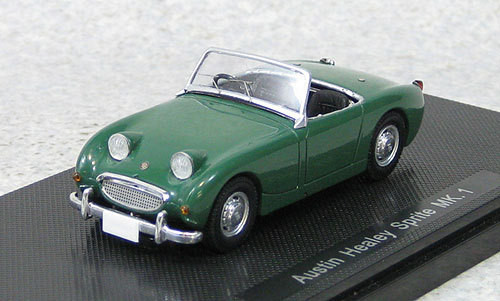 Ebbro 44455 Austin Healey Sprite Mk.I Green 1958 (Resin) 1/43 Scale