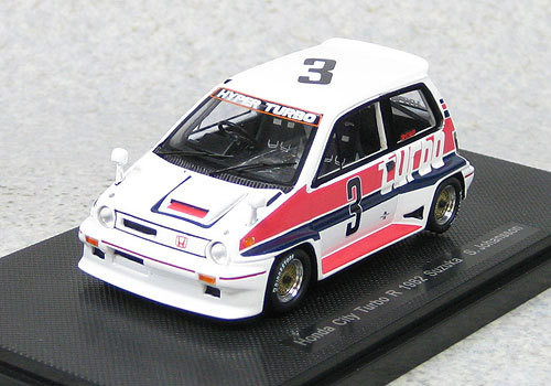 Ebbro 44471 Honda City Turbo R #3 Suzuka 1982 S.Johansson (Resin) 1/43 Scale