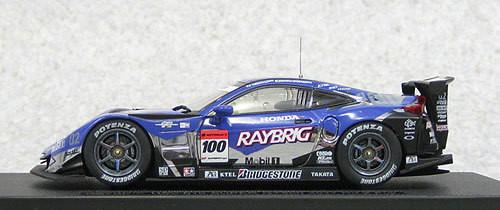 Ebbro 44549 Raybrig HSV-010 Super GT500 2011 Rd.2 Fuji No.100 1/43 Scale
